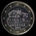 1 euro Andorre