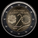 2 euro commemorative Andorra 2014