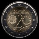 2 euro Andorra 2014
