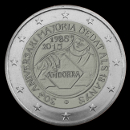 2 euro commemorative Andorra 2015