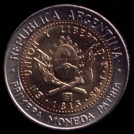 Argentine peso argentino