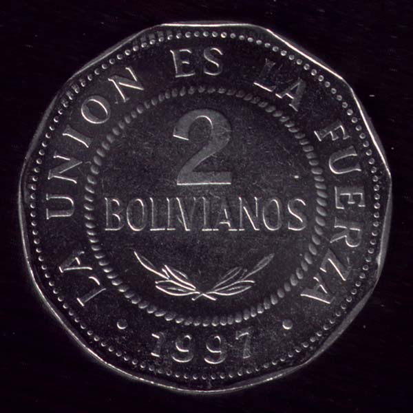 Bolivia Boliviano