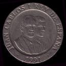 1 peseta Juan Carlos I