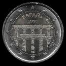 2 euro commemorativi Spagna 2016