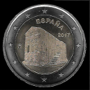 2 Euro Commemorative of Spain 2017