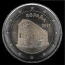 2 euro commemorativi Spagna 2017